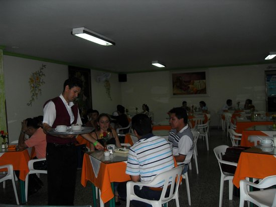Hotel Sevilla Plaza : en el restaurante