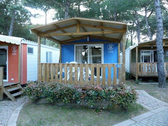 Camping Village Cavallino : la mobile home Baia Relax New