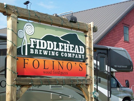 Fiddlehead Brewing Company: Best of both in one building  :)