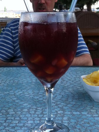 A Kashmir Balti Sangria......one of the best by far!!