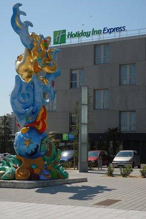 Holiday Inn Express Saint Nazaire : The famous Holiday Inn Express hotel in Saint-Nazaire