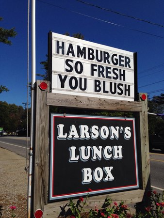 Larson's Lunch Box: Watch for the sigh!