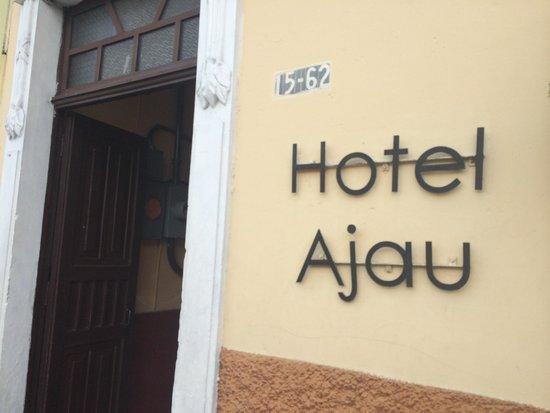 Hotel Ajau: Entrada