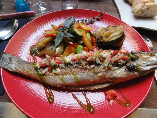 Restaurant U Libecciu : Le plat :)