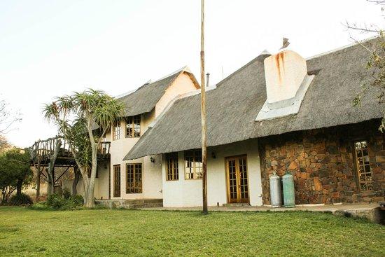 Mokolodi House: Rear of the house
