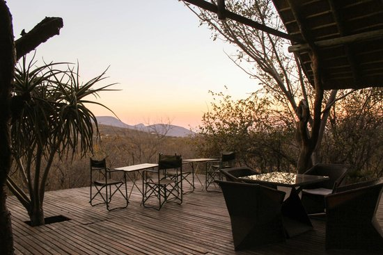Mokolodi House: Stunning evening outlook