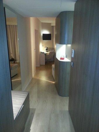 Hotel Oceania: entrée chambre