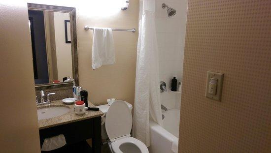 Holiday Inn Express Los Angeles-LAX Airport: Bathroom