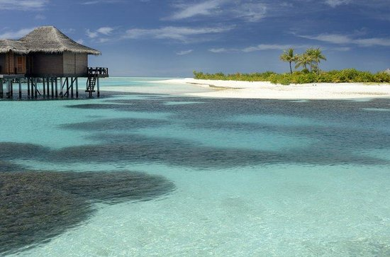 Naladhu Resort Maldives: Ocean Access from Over Water Bungalow