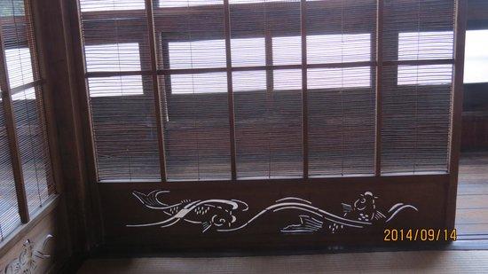 Odawara Itabashi Uchino-tei: 2階書院建具
