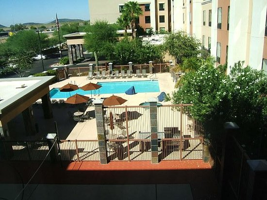 Homewood Suites by Hilton Phoenix North - Happy Valley : Pool View from 3rd floor room