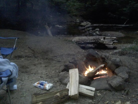 Gunstock Mountain Resort: not too old for marshmallows roasted over a campfire : )