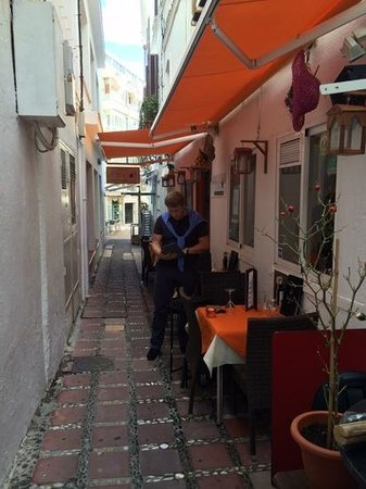 Hotel Fuerte Marbella: старый город