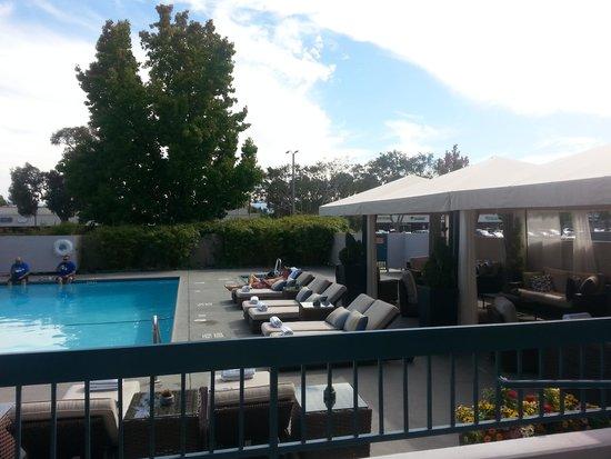 The Domain Hotel : pool area
