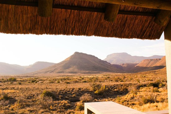 Karoo National Park Unterkunfte: The view from our cottage