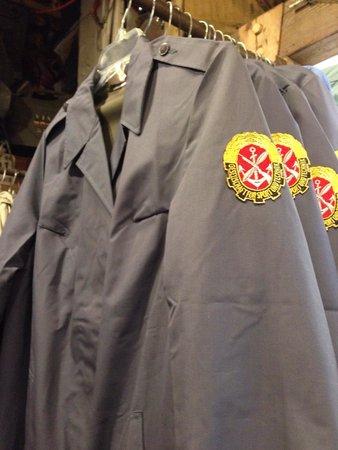 Marine Specialties: German jackets