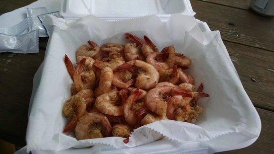 Flowers Seafood Company: steamed shrimp