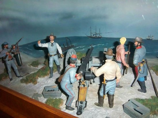 Fort Fisher State Historic Site: Fire!!!!