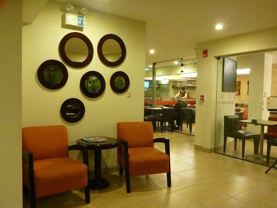 Girasoles Hotel: el comedor
