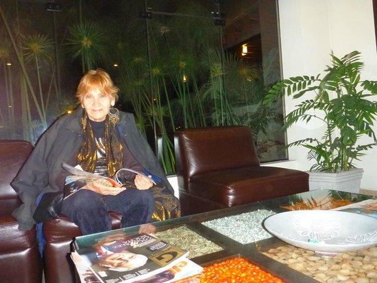 Girasoles Hotel: mi mami