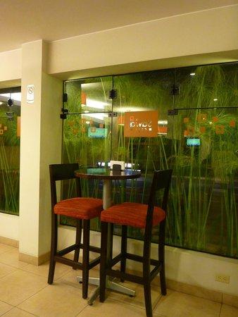 Girasoles Hotel: cafe