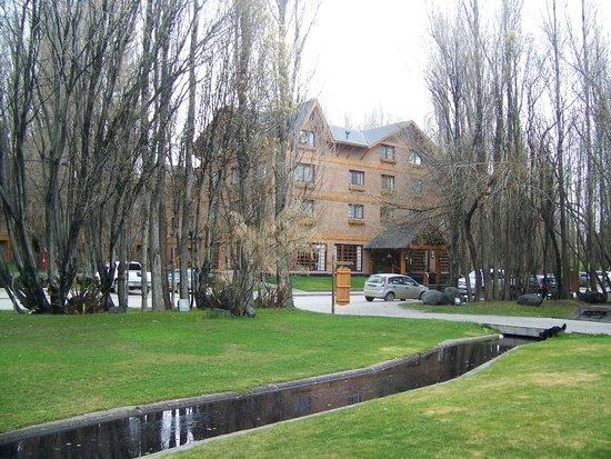 Posada Los Alamos: vista del hotel