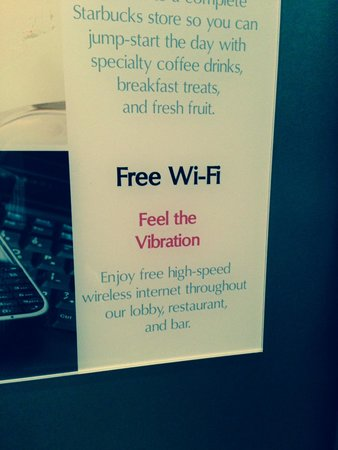 Cleveland Airport Marriott: Odd Internet Policy