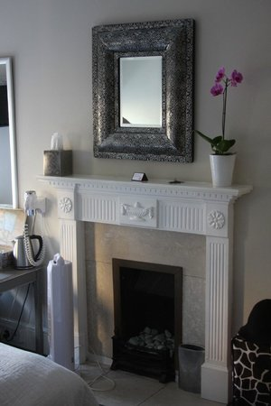 The Henry Guest House : Fireplace