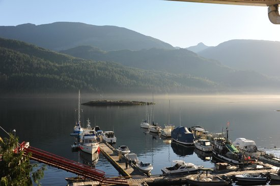 Bathgate General Store, Resort & Marina: View from rooms.