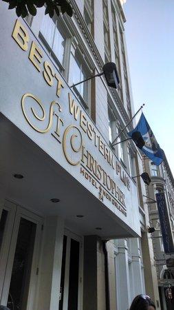BEST WESTERN PLUS St. Christopher Hotel: street view
