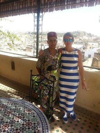 Visita a Fes hotel Riad Rcif