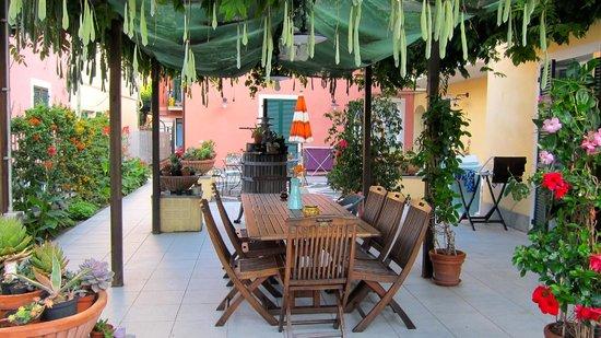 A Durmi: The patio