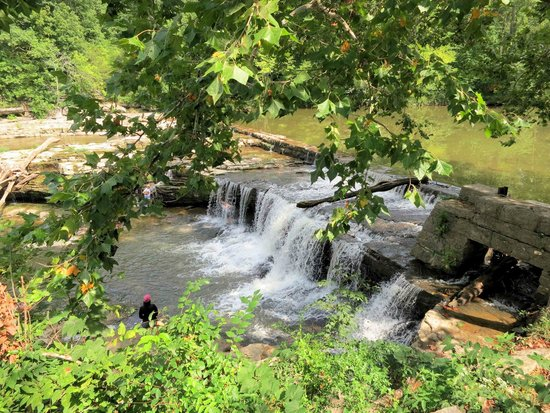 Indiana: First fall at the Upper Falls