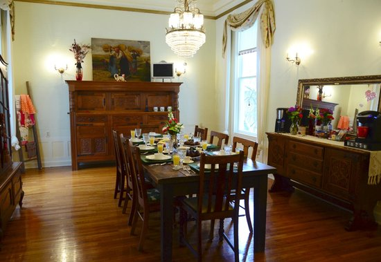 Prospect Place Bed and Breakfast: Dining room