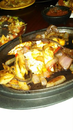 Norfolk, NY: Delicious chicken fajita