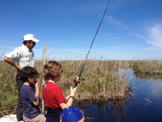 Ibera Lodge: The pleasure of fishing with Juan Pablo
