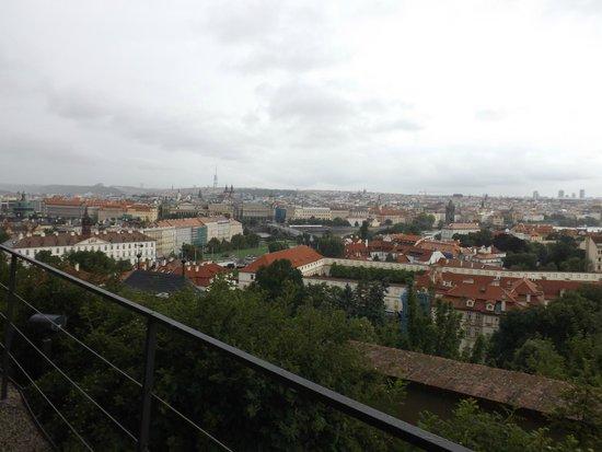 Letna Park: Обзорная площадка