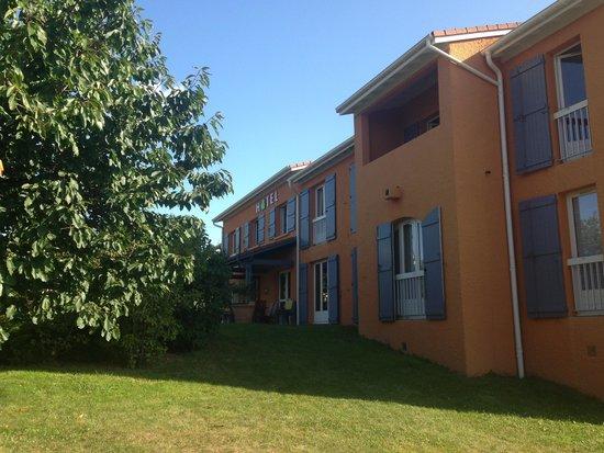 Hotel des Vignes: Hotel calme