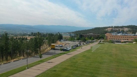 UBC Okanagan Campus: View from bed room