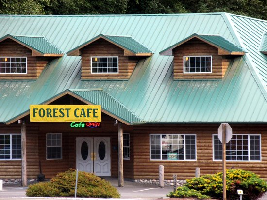 Forest Cafe, Trees of Mystery, Klamath, Ca