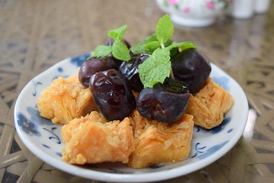 "Arabian Tea House Café : ""Arabic Sweets And Dates"""