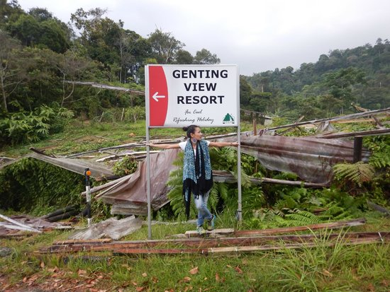 Genting View Resort: Outside near entrance