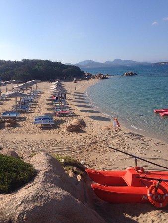 Hotel Capriccioli : Spiaggia Capriccioli
