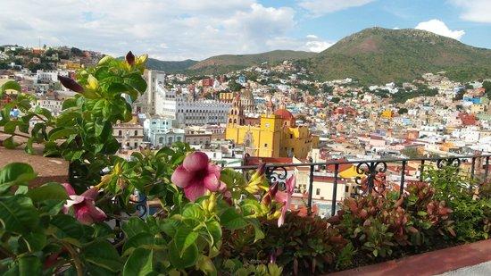 View of El Centro from Hotelito Casa Dionisio