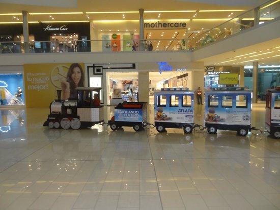 Metromall Panama: trencito de paseo por el mall U$S 1
