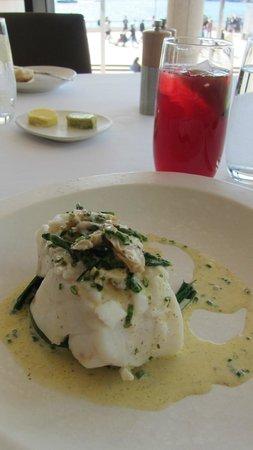 ARIA Restaurant : Steamed bass grouper