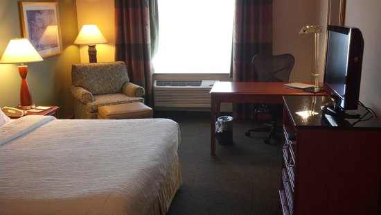 Hilton Garden Inn Green Bay: View of the room from the door