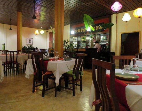 The Apsara: Dining room.