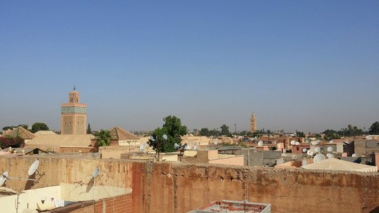 Riad Dar Massai: From the rooftop