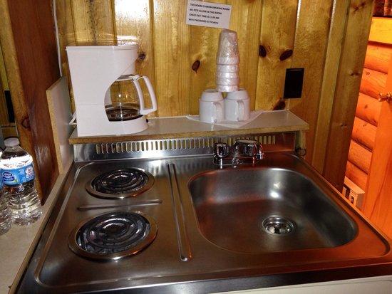 Teton Valley Cabins: Cucinino